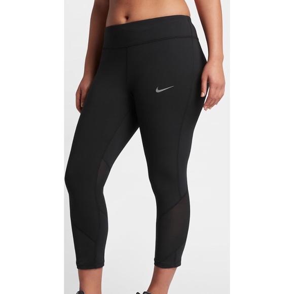 816584c238731 Nike Pants | Dri Fit Epic Lux Running Crop Tights 6251 | Poshmark